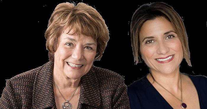 Cathy Colan Muth and Karen Ammar