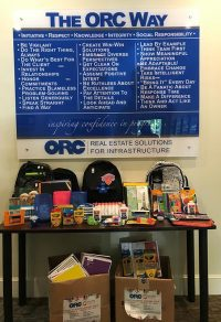 2019 Back to School Drive